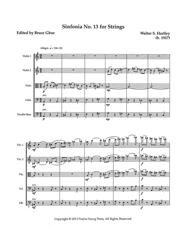 Sinfonia No. 13 for Strings