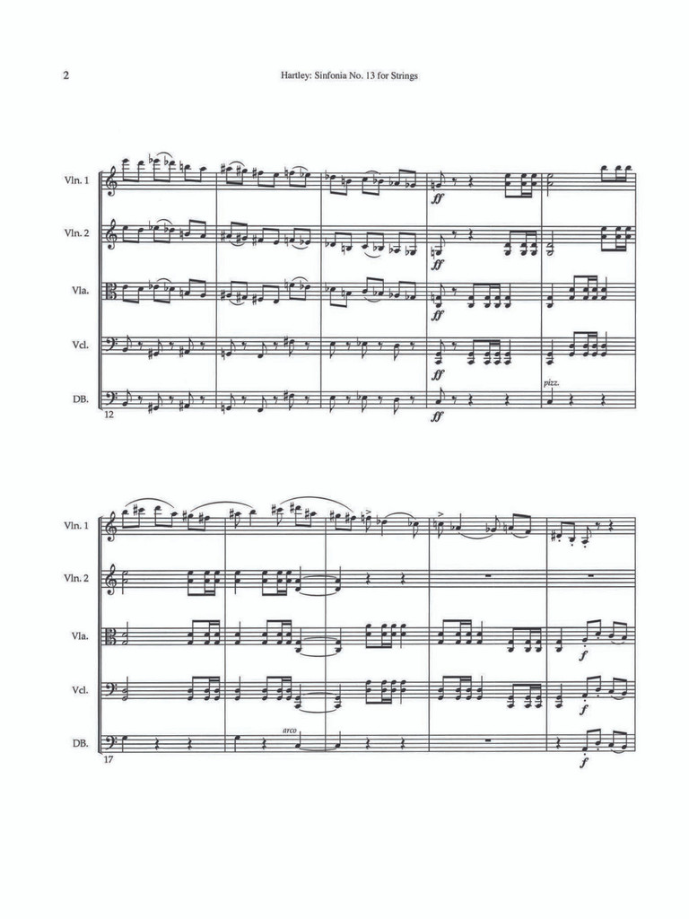 Sinfonia No. 13 for Strings (download)