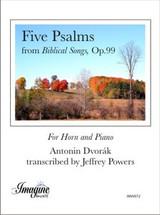 "Five Psalms from ""Biblical Songs"", Op.99"