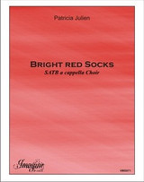 Bright Red Socks
