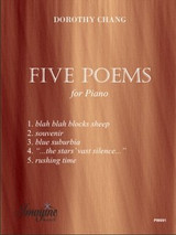 Five Poems for Piano