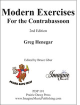 Modern Exercises for the Contrabassoon, 2nd Edition