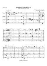 BOMBARDO - CARILLON (baritone quartet)