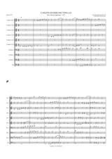 CANZON DUODECIMI TONI A 10 (brass choir)