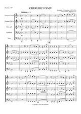 CHERUBIC HYMN (brass quintet)
