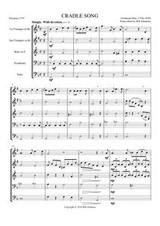 CRADLE SONG (brass quintet)