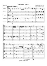 CRADLE SONG (string quintet)
