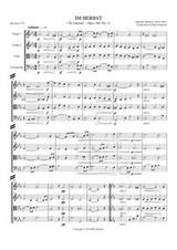 IM HERBST (string quartet)