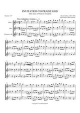 INVITATION TO PRAISE GOD (woodwind trio)