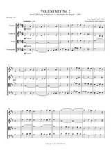 VOLUNTARY II (string quartet)
