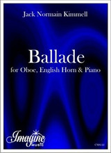 Ballade for Oboe, English Horn and Piano