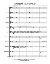 Symphony No. 41 (Mvt. 4) (Download)