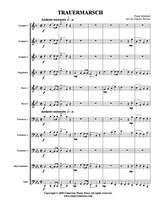 Trauermarsche, Op. 55 (Brass Choir) (Download)