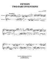 15 Two-Part Inventions (Trumpet Duet) (Download)
