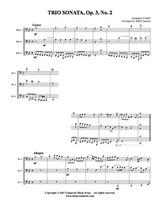 Trio Sonata, Op. 3 No. 2 (Download)
