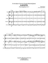Gavotte from Symphony #4 (Download)