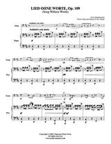 Lied Ohne Worte Op. 109 (Download)