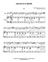 Sonata in G minor (Tuba Solo) (Download)