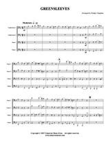 Greensleeves (Tuba Quartet) (Download)
