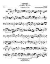 Sonata in A Minor, H. 562 (Tuba Solo)