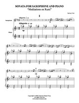 Sonata for Saxophone (Download)