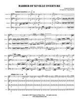 Barber of Seville Overture (Brass Quartet) (Download)