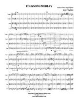 Folksong Medley (String Quartet) (Download)