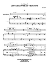 Concerto for Bass Trombone (Download)