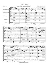"""ANDANTE FROM """"GRAND PIECE SYMPHONIQUE"""" (download)"""