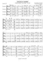 """ANGELIC CHOIR FROM """"FAUST,"""" D. 440 (trombone quartet)"""