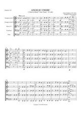 """ANGELIC CHOIR FROM """"FAUST,"""" D. 440 (brass quintet)"""