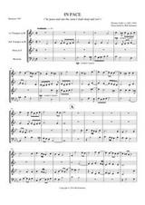 IN PACE (brass quartet) (download)