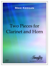 Two Pieces for Clarinet & Horn (download)