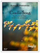 Cradle Song (Violin & Piano)