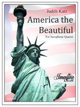 America the Beautiful (Saxophone Quartet)