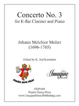 Concerto No. 3 for E-flat Clarinet and Piano