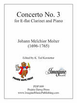 Concerto No. 3 for E-flat Clarinet and Piano (download)