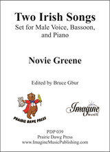 Two Irish Songs for Male Voice, Bassoon and Piano (download)