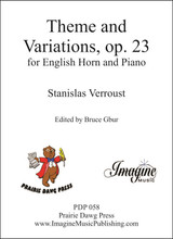 Theme and Variations, op. 23 (English Horn & Piano)(download)