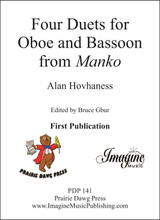 "Four Duets for Oboe & Bassoon from ""Manko"""