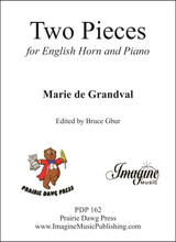 Two Pieces for English Horn & Piano (download)