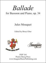 Ballade for Bassoon, op. 34 (download)