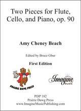 Two Pieces for Flute, Cello, and Piano, op. 90 (download)