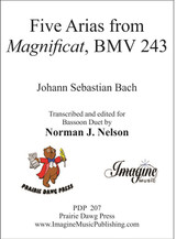 """Five Arias from """"Magnificat"""" BWV 243 (download)"""