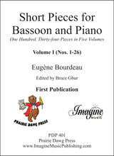 Short Pieces for Bassoon and Piano Volume 1 (#1-26) (download)