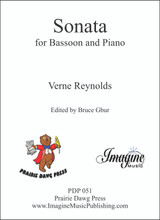 Sonata for Bassoon and Piano (Verne Reynolds)(download)