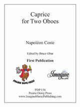 Caprice for Two Oboes (download)