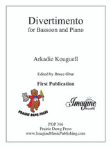 Divertimento for Bassoon & Piano (download)