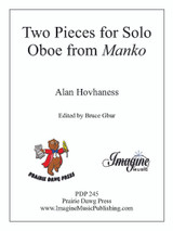 Two Pieces for Solo Oboe from Manko
