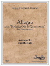 "Allegro from ""Birthday Ode To Queen Anne"" (download)"